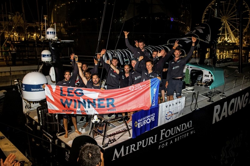 Winning gambit in final hours sees Mirpuri Foundation Racing Team clinch leg three victory in Genova