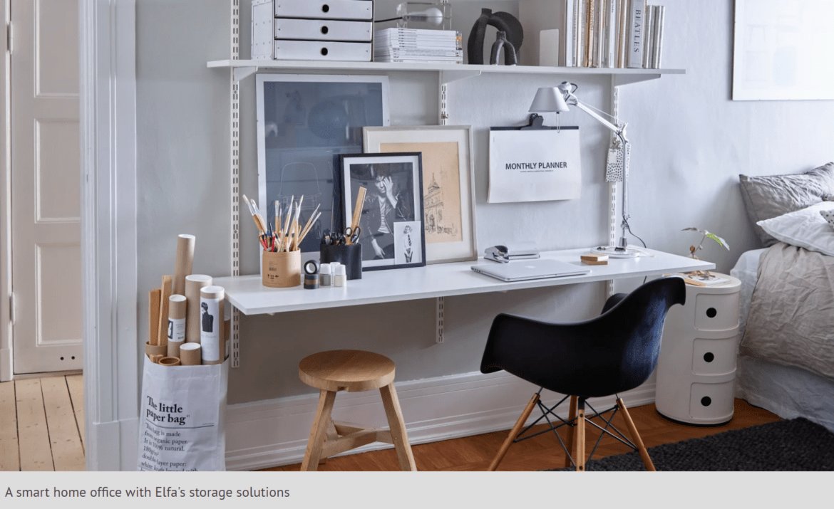 The modern home office